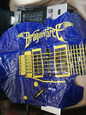 DRAGONFORCE Air Inflatable Guitar Extreme Power Metal Herman Li Sam Totman • 14.99£