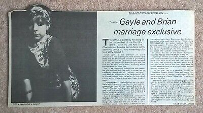 Lori And The Chameleons, Vintage UK Press Review Cuttings Clippings (Touch, Zoo) • 1.99£
