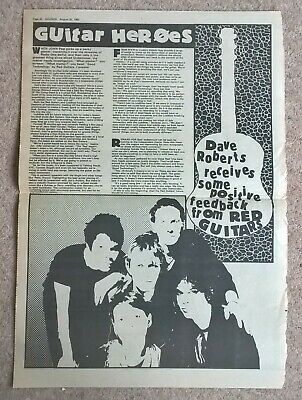 Red Guitars Vintage UK Press Articles Cuttings (Good Technology, Slow To Fade) • 3.99£