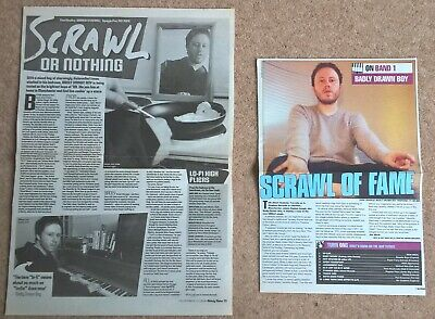 Badly Drawn Boy Vintage UK Press Articles Cuttings (NME, Hour Of Bewilderbeast) • 3.99£