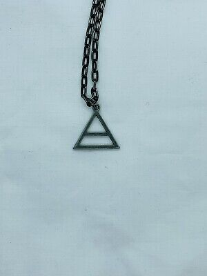 30 Seconds To Mars Triad Necklace - OFFICIAL - Used With Replacement Chain • 5£