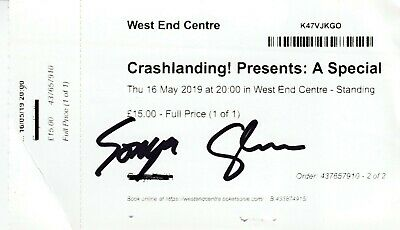 Echobelly - SIGNED Used Ticket 2019 • 7.75£