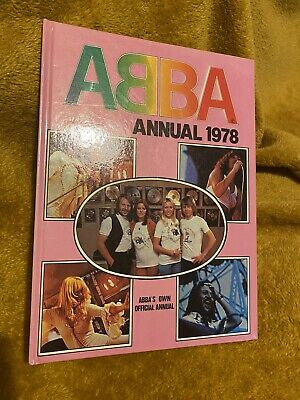 Abba Official Annual 1978 - Lovely Condition • 7£