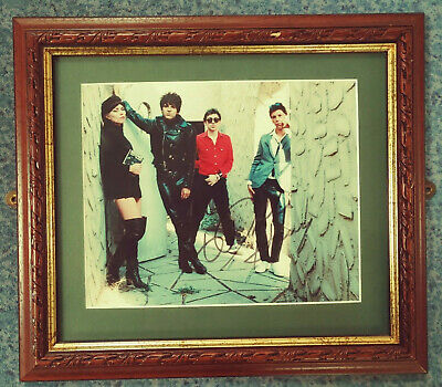 Blondie - DEBBIE HARRY Hand Signed Framed Photo With COA • 60£