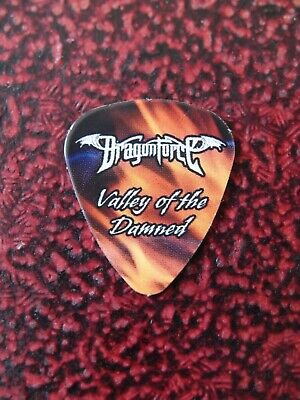 DRAGONFORCE Valley Of The Damned Guitar Pick Sam Totman Original Very Rare 2010 • 9.99£