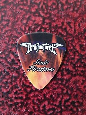 DRAGONFORCE Sonic Firestorm Guitar Pick Herman Li Original Very Rare 2010 • 9.99£