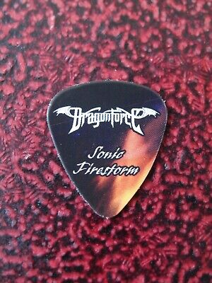 DRAGONFORCE Sonic Firestorm Guitar Pick Sam Totman Original Very Rare 2010 • 9.99£