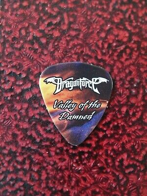 DRAGONFORCE Valley Of The Damned Guitar Pick Herman Li Original Very Rare 2010 • 9.99£