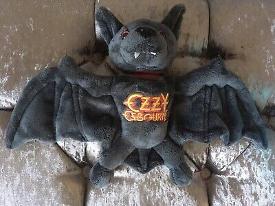 Ozzy Osbourne Plush Bat Toy LIMITED EDITION Collectable • 70£