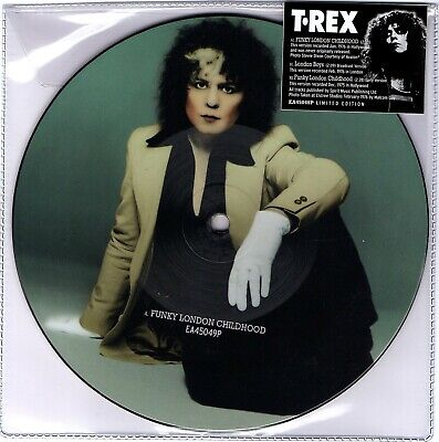 Marc Bolan/t.rex : Funky London Childhood/london Boys - Picture Disc New • 11.50£
