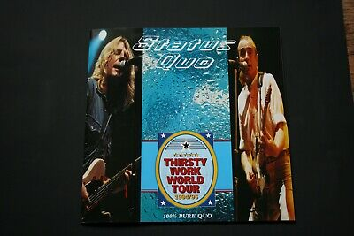Status Quo Tour Programme - Thirsty Work World Tour 1994/1995 - 32 Pages • 7£