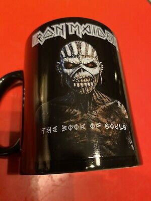Iron Maiden Book Of Souls Official Mug Excellent Condition • 3.99£