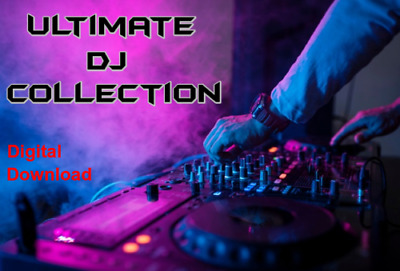 Ultimate DJ Collection - Over 25,000 Unmixed Tracks - 250GB+ - House Bass Garage • 20£