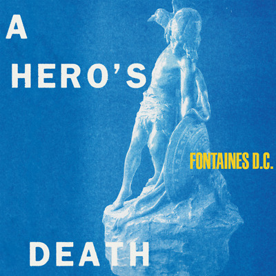 FONTAINES D.C. - A Hero's Death - CD Album (Released 31st July 2020) Brand New • 8.99£