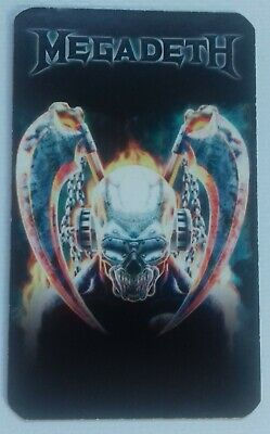 Megadeth United Abominations First Day Deth Card # Promo Flyer/postcard • 2.95£