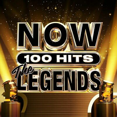 NOW 100 Hits: The Legends - Various Artists (Box Set) [CD] RELEASED 27/11/2020 • 11.99£
