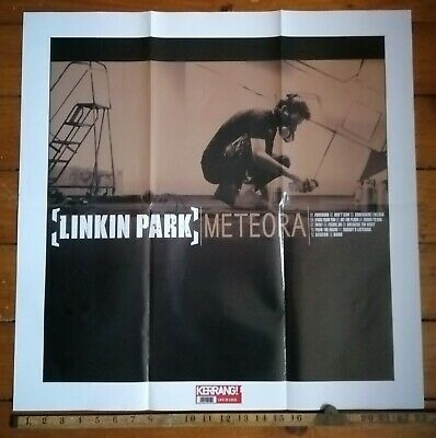 LINKIN PARK Meteora Album/Red Hot Chili Peppers By The Way POSTER Kerrang! 953 • 3.50£