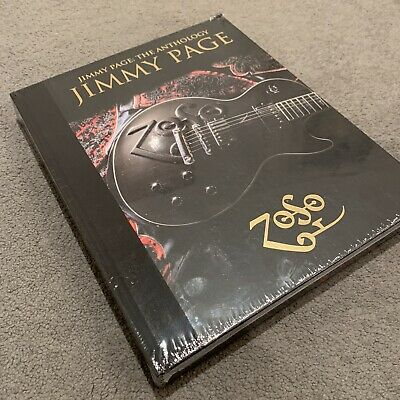 Jimmy Page Led Zeppelin: The Anthology Hardcover Book 2020 • 30£