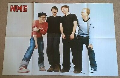 Blur, Vintage Large UK Press Interviews/articles X24 + Cuttings Clippings Poster • 22.99£