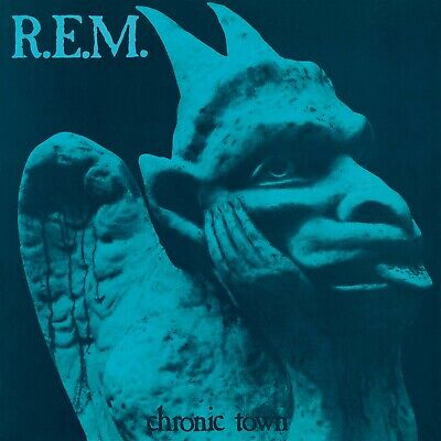 R.E.M. Chronic Town BANNER HUGE 4X4 Ft Fabric Poster Tapestry Flag Album Art • 21.42£