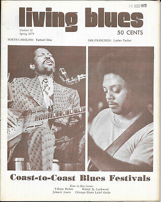 LIVING BLUES : Magazine : Number 12 : Spring 1973 • 10£