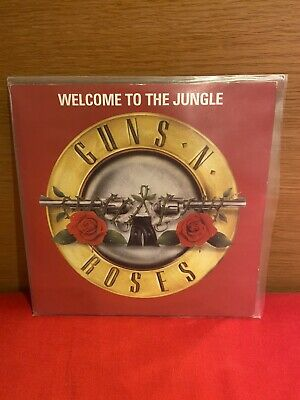 """Guns N' Roses Welcome To The Jungle Whole Lotta Rosie 7"""" Vinyl • 18.02£"""