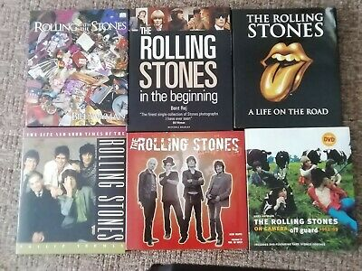 Rolling Stones 6 Nearly New Books • 20£