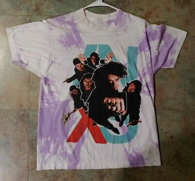 Vintage  INXS 1991 Summer XS World Tour Double Sided Concert T-shirt  • 62.97£