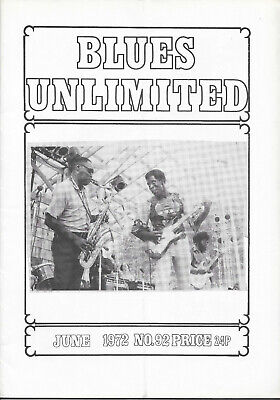 BLUES UNLIMITED : No.92 : June 1972 : John Littlejohn & Mack Simmons • 10£