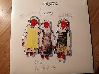 The Cure Primary 7   Genuine  Signed Autographed Sleeve 1981 • 350£