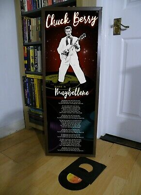 Chuck Berry Maybellene Promotional Poster Lyric Sheet,beethoven,elvis, • 13.99£