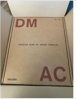Taschen XXL Book Depeche Mode By Anton Corbijn DM AC Signed Limited Ed SOLD OUT • 1,900£