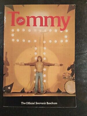 Tommy The Movie (1975) Official Souvenir Brochure • 8.75£