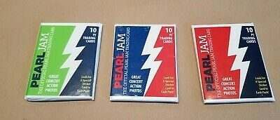 Official Pearl Jam Trading Cards **BRAND NEW / UNOPENED** - Rare! • 34.99£