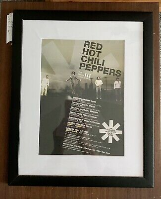 Red Hot Chili Peppers UK Tour Poster 2006 • 3£