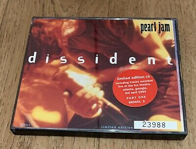 Pearl Jam Picture Disc One Limited Edition 23988 • 5£