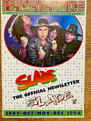 Slade Fanzine Official Newsletter 1994 Noddy Holder Dave Hill Slade II • 15£