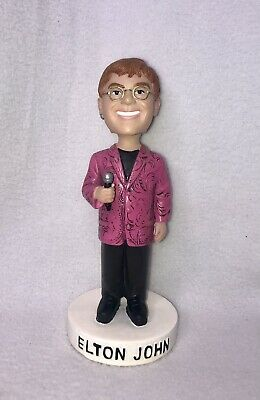 Elton John One Night Only Madison Square Garden Bobblehead Pink Jacket • 70.45£