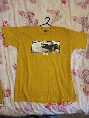 Original R.E.M. 1995 Monster Tour T-Shirt New Old Stock Fruit Of The Loom Sealed • 54.95£