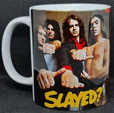 SLADE - 'SLAYED' -(1) TOP QUALITY 11oz COLLECTORS MUG - RETRO/1970's  *FEW ONLY* • 4.99£