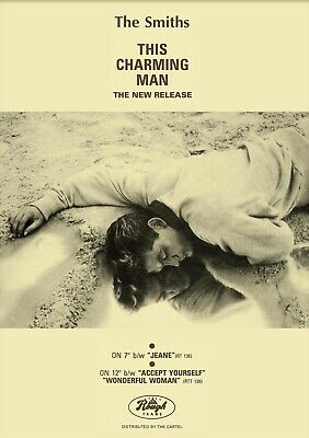 The Smiths 'This Charming Man ' Reproduction Postcard Flyer FREE POSTAGE • 1.79£