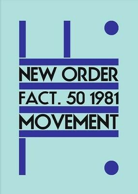 New Order Poster A3 'Movement ' FREE POSTAGE 24HR DISPATCH • 6.99£