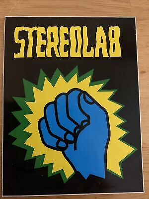 Stereolab Underground Is Coming Sticker - New Early 2000's Print • 10£