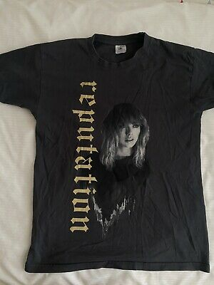 Authentic Official Taylor Swift Tour Merch Reputation T Shirt Size Small Grey  • 3.20£