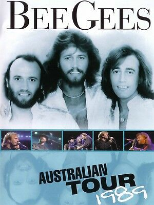 Bee Gees Australia 1989 16  X 12  Reproduction Concert Poster Photo • 7.95£