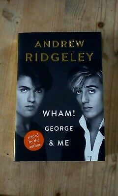 George Michael/andrew Ridgeley Signed Autobiography New Hardback Edition New • 34.99£