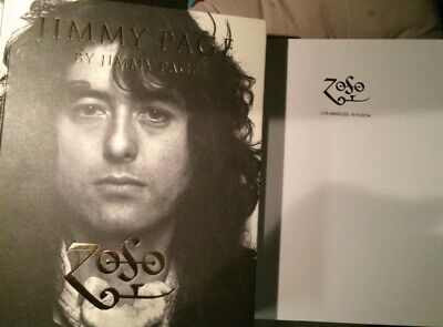 Jimmy Page Stamped Book From Los Angeles California Rare Jimmy Page 2010 • 159.59£