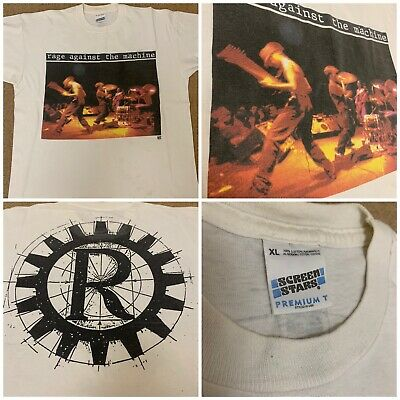 Rage Against The Machine Vintage Original 1991 T Shirt Promo Tour 90s T Shirt • 79£