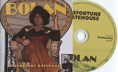 Marc Bolan/ T. Rex : Mistortune Gatehouse Cd Sealed. Deleted Easy Action Release • 5.99£