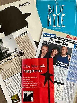 The Blue Nile - Assorted Press Cuttings & Ticket Stubs • 18£